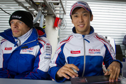 Autograph session: Alexander Wurz and Kazuki Nakajima