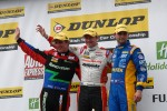 Round 11 Podium 1st Gordon Shedden, 2nd Andrew Jordan, 3rd Jason Plato