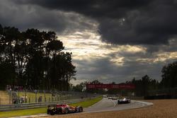 Practice action under a menacing sky