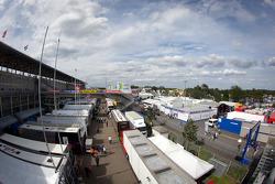 Le Mans paddock