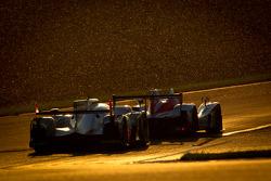 #42 Greaves Motorsport Zytek Z11SN Nissan: Alex Brundle, Martin Brundle, Lucas Ordonez, #2 Audi Sport Team Joest Audi R18 E-Tron Quattro: Rinaldo Capello, Tom Kristensen, Allan McNish