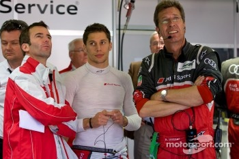 Romain Dumas, Loic Duval and Ralf Jüttner