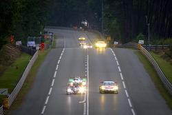 #23 Signatech Nissan Oreca 03 Nissan: Franck Mailleux, Jordan Tresson, Olivier Lombard, #79 Flying Lizard Motorsports Porsche 911 RSR: Seth Neiman, Patrick Pilet, Spencer Pumpelly
