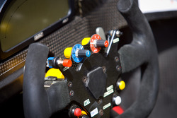 #45 Boutsen Ginion Racing Oreca 03 Nissan steering wheel