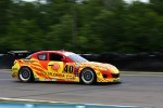 #40 Dempsey Racing Visit Florida Mazda RX-8:  Joe Foster, Patrick Dempsey 