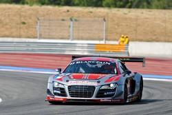 #43 Sainteloc Racing Audi R8 LMS ultra: Marc Sourd, Patrice Madeleine, Dino Lunardi