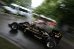 Tom Kristensen drives a John Player Special Lotus