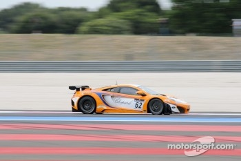 #62 Lapidus Racing McLaren MP4-12C:  Klaas Hummel, Phil Quaife, Tim Mullen