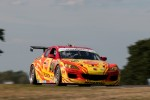 #40 Dempsey Racing Mazda RX-8: Patrick Dempsey, Joe Foster