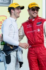 Sébastien Bourdais and Ryan Dalziel