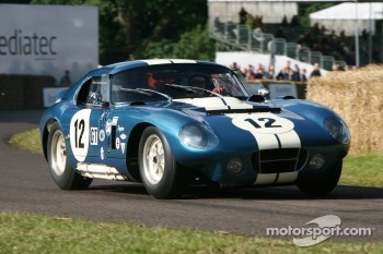 Kenny Brack in Shelby American Cobra Daytona Coupe