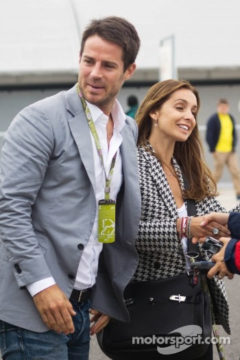 Jamie Redknapp, Former Football Player with Louise Redknapp, Singer