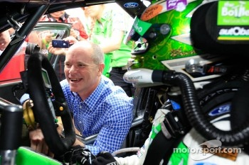 Queensland Premier Campbell Newman with David Reynolds