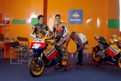 Dani Pedrosa and Marc Marquez in 2011