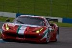 #60 AF Corse Ferrari 458 Italia: Piergiuseppe Perazzini, Marco Cioci, Matt Griffin