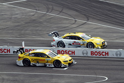 Sunday Round One Dirk Werner, BMW Team Schnitzer BMW M3 DTM against Rahel Frey, Audi Sport Team Abt Audi A5 DTM