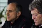 Franz Tost, Scuderia Toro Rosso Team Principal and Norbert Haug, Mercedes Sporting Director in the FIA Press Conference