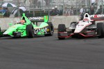James Hinchcliffe, Andretti Autosport Chevrolet and Will Power, Verizon Team Penske Chevrolet