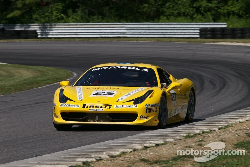 #23 Ferrari of Central Florida Racing 458TP: Onofrio Triarsi