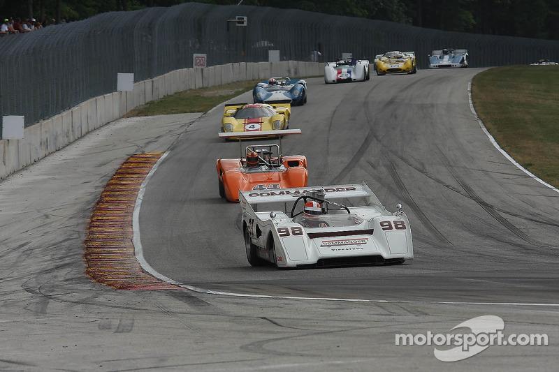 #98 1972 McLaren M8FP : Ed Swart #44 1970 Lola T165 : Jim Ferro #4 1968 Lola T70 MkIIIB: Duncan Dayton #11 1965 Lola T70 MkI : Marc Devis #22 1968 McLaren M6B : Robert Bordin #171 1965 Genie Mk10B:  A.C. D'Augustine