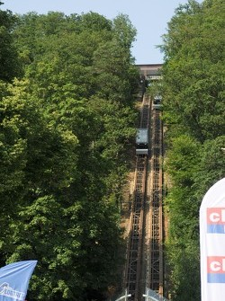 Funicular Railway in Spa town