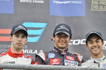 Felix Serralles, Carlos Sainz Jr, Jazeman Jaafar