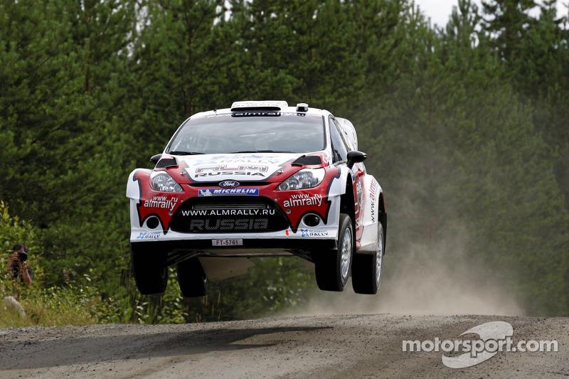 Evgeney Novikov and Denis Giraudet, Ford Fiesta RS WRC