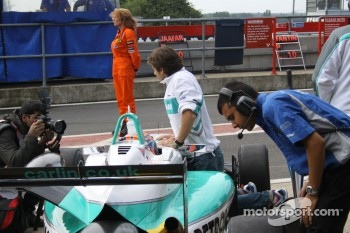 Jazeman Jaafar and Bruce Jouanny