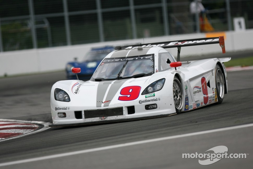 #9 Action Express Racing Chevrolet Corvette DP: Joao Barbosa, Darren Law