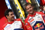 Podium: winners Sbastien Loeb and Daniel Elena, Citron DS3 WRC, Citron Total World Rally Team
