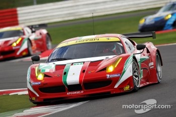 #71 AF Corse Ferrari 458 Italia: Andrea Bertolini, Olivier Beretta