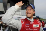 Andre Lotterer celebrates the win