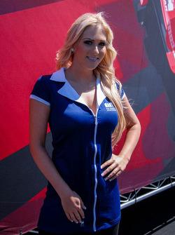 Sonoma Raceway Umbrella Girl
