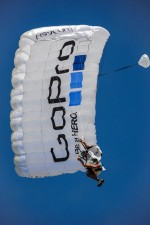 GoPro Event Parachutists