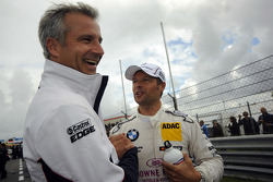 Andy Priaulx, BMW Team RBM; Jens Marquardt, BMW Motorsport Director