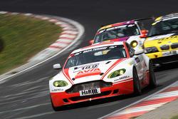 #189 Fanclub Mathol Aston Martin Vantage V8 GT4: Oliver Louisoder, Reinhold Renger