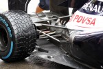 Williams rear suspension detail