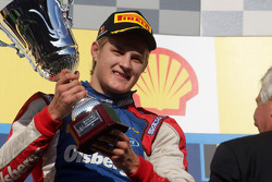 Podium: race winner Marcus Ericsson