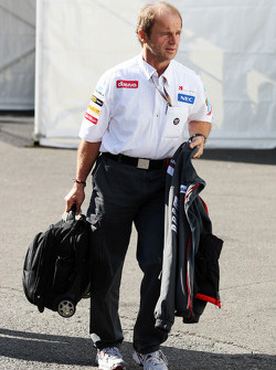 Willi Rampf, Sauber Physio