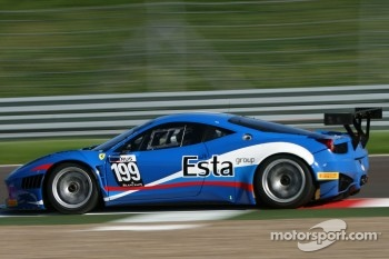 #199 Ferrari 458 Italia GT3: Aleksey Basov, Bjrn Grossman