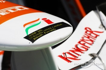 Sahara Force India F1 Team nosecone