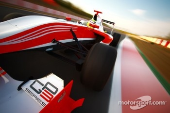 The new GP3-13 car on track