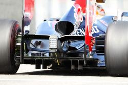 Sebastian Vettel, Red Bull Racing, rear diffuser