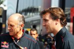 Franz Tost, Scuderia Toro Rosso Team Principal with James Key, Scuderia Toro Rosso Technical Director