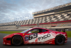 #69 AIM Autosport Team FXDD Racing with Ferrari Ferrari 458