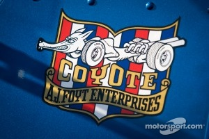 A.J. Foyt Racing signage
