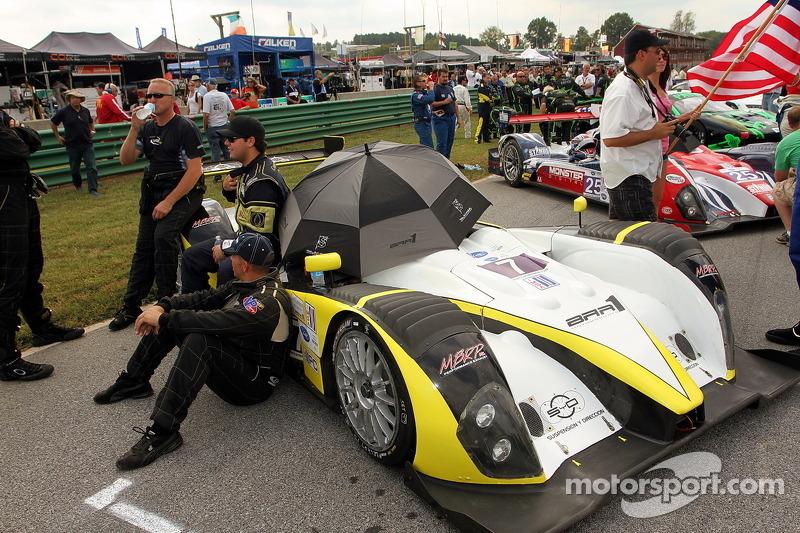 #8 Merchant Services Racing Oreca FLM09: Kyle Marcelli, Tony Burgess
