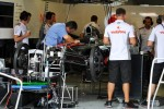 McLaren checked by an FIA Delegate