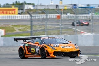 #112 Rhino's Leipert Motorsport Lamborghini Gallardo LP600: Eduard Leganov, Marko Vahamaki
