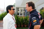 Chalerm Yoovidhya, Red Bull Racing Co-Owner with Christian Horner, Red Bull Racing Team Principal